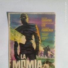 Flyers Publicitaires de films Anciens: LA MOMIA - FOLLETO DE MANO. Lote 68559005
