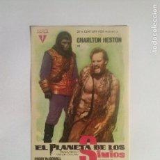 Cine: EL PLANETA DE LOS SIMIOS - FOLLETO DE MANO. Lote 68559581