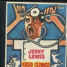 Cine: PROGRAMA DE CINE. CASO CLINICO EN LA CLINICA. JERRY LEWIS, GLENDA FARRELL..... PARAMOUNT. Lote 68834917