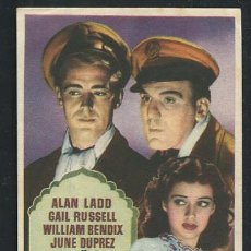 Cine: PROGRAMA CALCUTA (ALAN LADD - GAIL RUSSELL - WILLIAM BENDIX - JUNE DUPREZ ). Lote 68835689