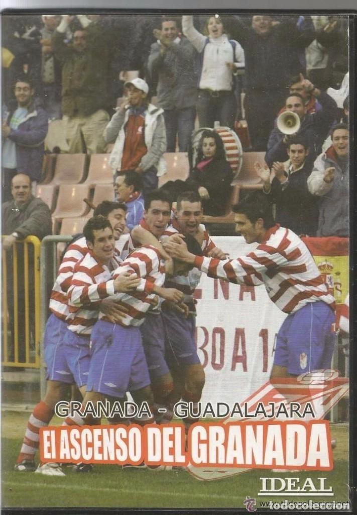 == D210 - EL ASCENSO DEL GRANADA - GRANADA / GUADALAJARA (Cine - Folletos de Mano - Deportes)