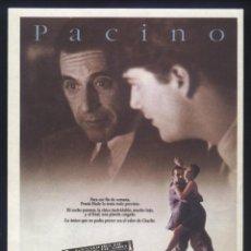 Cine: P-6765- ESENCIA DE MUJER (SCENT OF A WOMAN) AL PACINO - CHRIS O'DONNELL - GABRIELLE ANWAR. Lote 186117995