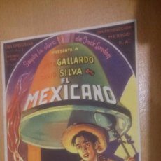 Cine: PROGRAMA DE CINE SIMPLE CON PUBLICIDAD EL MEXICANO. Lote 70488485
