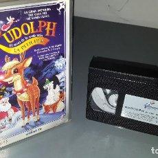 Cine: RUDOLPH LA PELÍCULA VHS. Lote 70500333