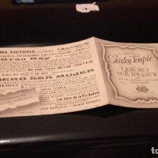 Cine: PROGRAMA DE MANO ORIGINAL DOBLE - QUIERO SER MUJER - CON PUBLICIDAD CINE DE PALAFRUGELL. Lote 71025461