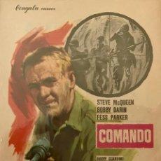 Cine: COMANDO- STEVE MCQUEEN- TEATRO CIRCO (ORIHUELA). Lote 71122293