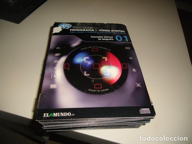 TODO SOBRE FOTOGRAFIA & VIDEO DIGITAL - LOS FORMATOS DE VIDEO - EL MUNDO 30 CD DEL 1 AL 30 (Cine - Folletos de Mano - Documentales)