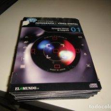 Cine: TODO SOBRE FOTOGRAFIA & VIDEO DIGITAL - LOS FORMATOS DE VIDEO - EL MUNDO 30 CD DEL 1 AL 30. Lote 71854271