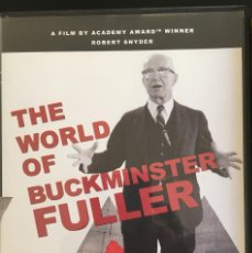 Folhetos de mão de filmes antigos de cinema: EL MUNDO DE BUCKMINSTER FULLER. ARQUITECTURA. DISEÑO. INGENIERÍA. VANGUARDIAS. . Lote 72413871