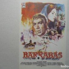 Cine: PROGRAMA MODERNO BARRABAS -A.QUINN. Lote 73417483