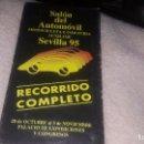 Cine: SALON DEL AUTOMOVIL MOTOCICLETA E INDUSTRIA AUXILIAR SEVILLA 95. Lote 73514207