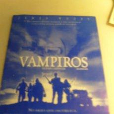 Folhetos de mão de filmes antigos de cinema: VAMPIROS. Lote 73529843