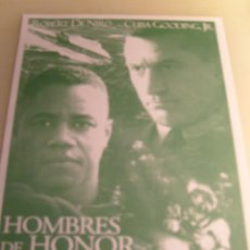 Cine: HOMBRES DE HONOR LOCAL. Lote 73529967