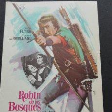 Cine: ROBIN DE LOS BOSQUES CON ERROL FLYNN. Lote 106149982