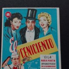 Cine: CENICIENTO CON GILA. Lote 73660090