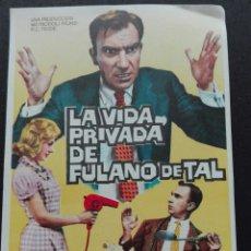 Cine: LA VIDA PRIVADA DE FULANO DE TAL CON FERNANDO FERNÁN GÓMEZ. Lote 73660266