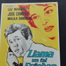 Cine: LLAMA UN TAL ESTEBAN. Lote 73661199