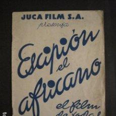 Cine: ESCIPION EL AFRICANO - PROGRAMA CAPITOL -VER FOTOS Y MEDIDAS-(V-8259). Lote 73698239