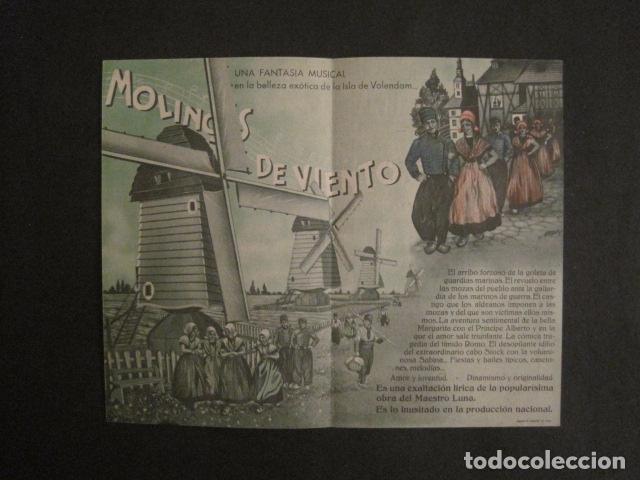 Cine: MOLINOS DE VIENTO - DOBLE - CINE PARQUE RECREATIVO -VER FOTOS -(C-3103) - Foto 2 - 74462987