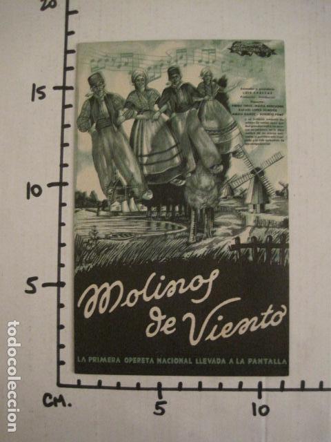 Cine: MOLINOS DE VIENTO - DOBLE - CINE PARQUE RECREATIVO -VER FOTOS -(C-3103) - Foto 4 - 74462987