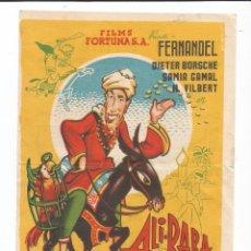 Cine: ALI-BABA Y LOS 40 LADRONES - SENCILLO - CON PUBLICIDAD. Lote 74937619