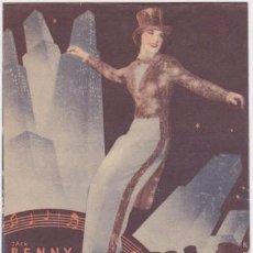 Cine: LA MELODÍA DE BROADWAY 1936 (CON PUBLICIDAD). Lote 76548511