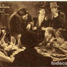 Cine: EL HIJO DE LA PARROQUIA. PROGRAMA SENCILLO. CARTULINA. REVERSO GRAN SALÓ CINEMA VICTORIA 1933.. Lote 76641027