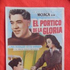 Cine: EL PORTICO DE LA GLORIA, IMPECABLE SENCILLO ORIGINAL, FCO. DE GUADALUPE LINA ROSALES, SIN PUBLICIDAD. Lote 76786767