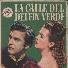 Cine: LA CALLE DEL DELFÍN VERDE - PROGRAMA SENCILLO DE MGM CON PUBLICIDAD AL DORSO, RF/PROGRA-1215. Lote 76833223