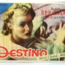 Cinema - DESTINO - PUBLICIDAD DEL CINE - - 76867175