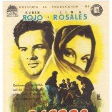 Cine: -39645 SIERRA MALDITA, CON RUBEN ROJO Y LINA ROSALES, SIN PUBLICIDAD, PROSPECTO DE CINE. Lote 77144321