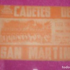 Cine: CADETES DE SAN MARTIN , PROGRAMA DOBLE .. Lote 77452465