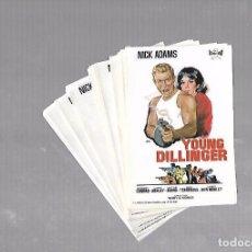 Folhetos de mão de filmes antigos de cinema: LOTE DE 50 PROGRAMAS DE CINE IGUALES. YOUNG DILLINGER. NICK ADAMS. 9 X 13CM . Lote 78117905