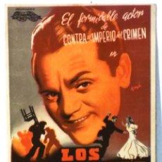 Cine: LOS PELIGROS DE LA GLORIA - PUBLICIDAD DE CINES . Lote 78165745