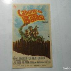Cine: PROGRAMA CAÑONES EN BATASI - RICHARD ATENBOROUGH - PUBLICIDAD. Lote 105645526