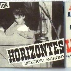 Cine: HORIZONTES LEJANOS - PLEGADO. Lote 78262861