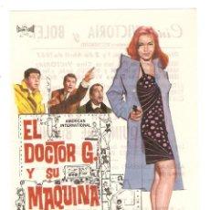 Cine: EL DOCTOR G. Y SU MÁQUINA DE BIKINIS - VINCENT PRICE, FRANKIE AVALON - DIRECTOR NORMAN TAUROG - JANO. Lote 78401969