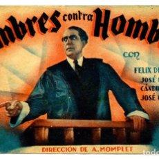 Cine: HOMBRES CONTRA HOMBRES. Lote 79141161