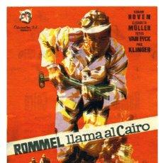 Cine: ROMMEL LLAMA AL CAIRO. Lote 79142105