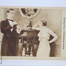 Cine: PROGRAMA DE CINE / TARJETA FOTOGRAMA - CON EL AGUA AL CUELLO - METRO GOLDWYN MAYER, 1933. Lote 79766993