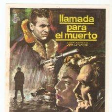 Cine: LLAMADA PARA EL MUERTO - JAMES MASON, MAXIMILIAN SCHELL, HARRY ANDREWS, SIMONE SIGNORET - MAC. Lote 79852449