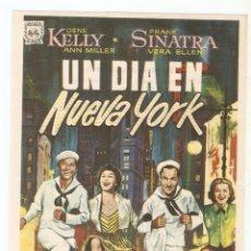 Cine: UN DÍA EN NUEVA YORK - GENE KELLY, FRANK SINATRA, ANN MILLER, VERA ELLEN. Lote 79959605