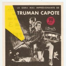 Cine: A SANGRE FRÍA - ROBERT BLAKE, SCOTT WILSON - DIRECTOR RICHARD BROOKS - TRUMAN CAPOTE. Lote 79972893