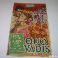Cine: QUO VADIS.. Lote 80293709