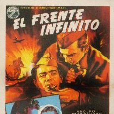 Cine: EL FRENTE INFINITO. Lote 80665254
