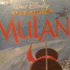 Cine: MULAN VIDEO VHS WALT DISNEY. Lote 86140778