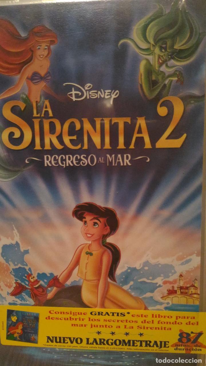 SIRENITA 2 VIDEO VHS WALT DISNEY (Cine - Folletos de Mano - Infantil)