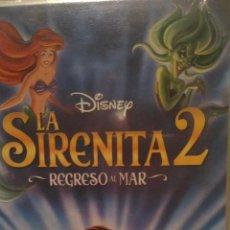Cine: SIRENITA 2 VIDEO VHS WALT DISNEY. Lote 80834999