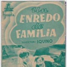 Cine: UN ENREDO DE FAMILIA . Lote 81034060