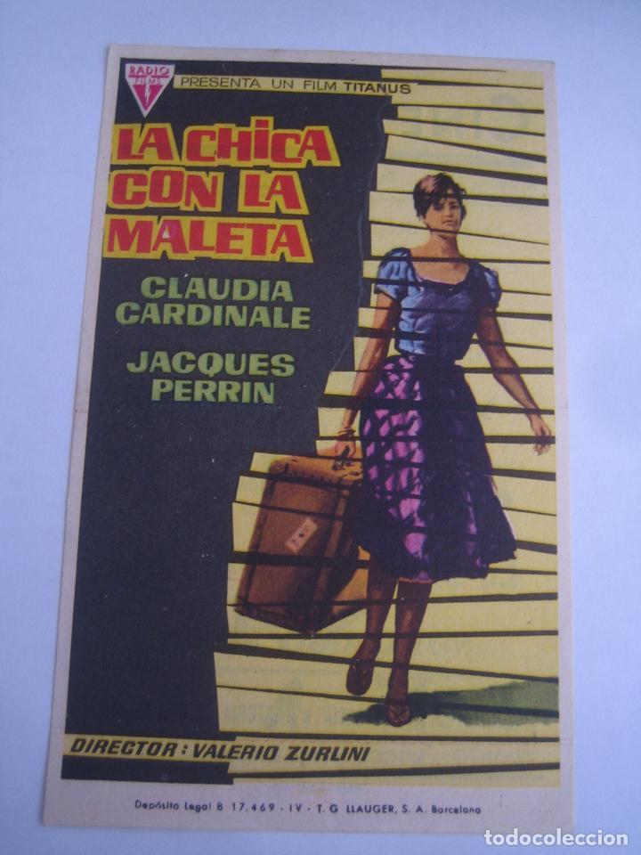 la chica con la maleta claudia cardinale original estreno con cine impreso  perfecto estado 03991af2c4dd